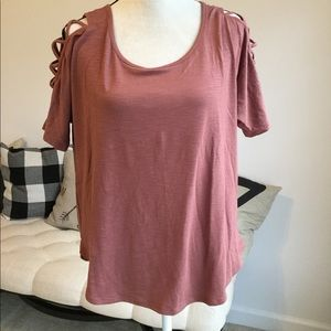 Beautiful mauve top